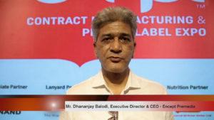 Mr. Dhananjay Balodi, Executive Director & CEO, Encept Premedia
