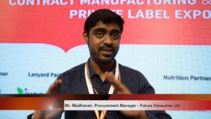 Mr. Madhavan, Procurement Manager, Future Consumer Ltd.