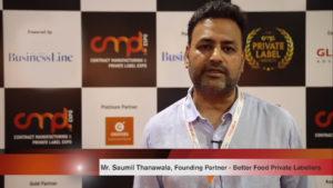Mr. Ashish Jogi - Founding Partner, Better Food Private Labellers