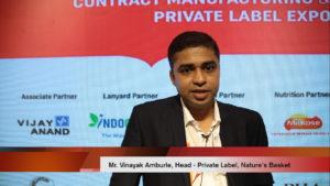 Mr. Vinayak Amburle, Head - Private Label, Nature's Basket