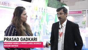 Mr. Prasad Gadkari, President-Works & Private Label Business, Rossari Biotech