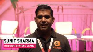 Mr. Sunit Sharma, Director - Grofers Brand