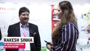 Mr. Rakesh Sinha, VP-Sales & Marketing, PAN Healthcare