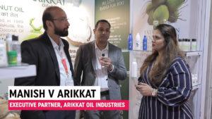 Mr. Manish V Arikkat, Executive Partner, Arikkat Oil Industries