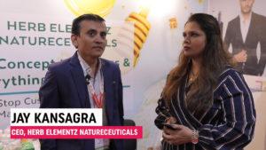 Mr. Jay Kansagra, CEO, Herb Elementz Natureceuticals