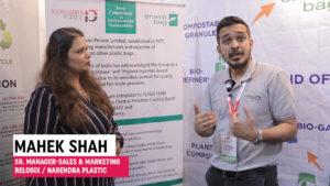 Mr. Mahek Shah, Sr. Manager - Sales & Marketing, Relogix / Narendra Plastics