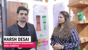 Mr. Harsh Desai, Director (Business Development) Daxal Cosmetics