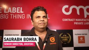 Mr. Saurabh Bohra, Senior Director - Grofers Brands