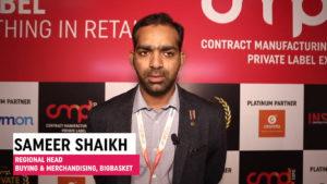 Mr. Sameer Shaikh, Regional Head - Buying & Merchandising, bigbasket
