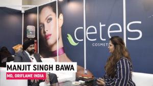 Mr. Manjit Singh Bawa, MD, Oriflame India