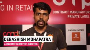 Mr. Debashis Mohapatra, Associate Director, Grofers